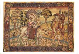 Postcard - The Flight Into Egypt - Tapestry, Woven In Silk - Card No.T127 - Unused Very Good - Cartes Postales