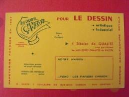 Buvard Papier Canson Pour Le Dessin. Vidalon Les Annonay (ardèche). Vers 1950 - C