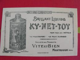 Buvard Brillant Liquide Ky-net-toy Pour Métaux. Vite Et Bien. Montrouge. Dragon Japonvers 1930 - Wash & Clean