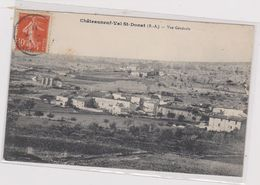 Cpa 04-2 CHATEAUNEUF VAL ST. DONAT Vue Générale - France
