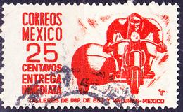 Mexico - Eilmarke Bote Auf Motorrad (MiNr: 1000) 1950 - Gest Used Obl - Mexico