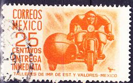 Mexico - Eilmarke Bote Auf Motorrad (MiNr: 1001 I) 1951 - Gest Used Obl - Mexico