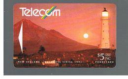 NUOVA ZELANDA - NEW ZEALAND - 1991 LIGHTHOUSE CAPE EGMONT - USED -  RIF. 10388 - New Zealand