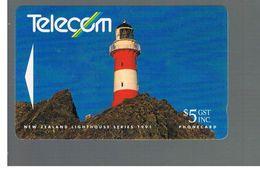 NUOVA ZELANDA - NEW ZEALAND - 1991 LIGHTHOUSE CAPE PALLISER - USED -  RIF. 10388 - New Zealand