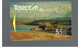 NUOVA ZELANDA - NEW ZEALAND - 1991 OKARITO LAGOON - USED -  RIF. 10389 - New Zealand