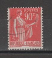 FRANCE / 1932 / Y&T N° 285 : Paix 90c - Choisi - Cachet Rond - Gebruikt
