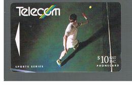 NUOVA ZELANDA - NEW ZEALAND - 1992  SPORT: TENNIS    - USED -  RIF. 10393 - New Zealand