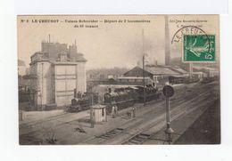 Le Creusot. 1903. Usines Schneider. Départ De Deux Locomotives De 65 Tonnes. (2599) - Industrie