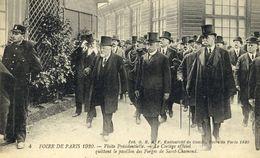 CPA (75)  FOIRE DE PARIS  1920 Visite Presidentielle Cortege Quittant Le Pavillon Des Forges De St Chamond (b Th Paris) - Exhibitions