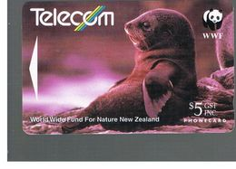 NUOVA ZELANDA - NEW ZEALAND - 1993 WWF: FUR SEAL   - USED -  RIF. 10395 - New Zealand
