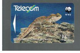 NUOVA ZELANDA - NEW ZEALAND - 1993 WWF: TUATARA   - USED -  RIF. 10396 - New Zealand