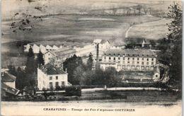 38 - CHARAVINES --  Tissage Des Fils D'Alphonse COUTURIER - Charavines