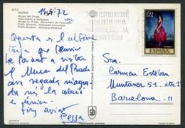 *Pessarrodona I Cardona, Lluis* Pintor. Autógrafo Sobre Tarjeta Postal, Fechada 1972. - Autógrafos
