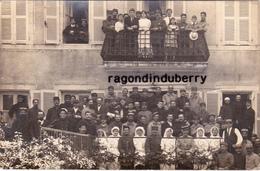 CPA PHOTO - 63 - CHATEL-GUYON - MILITARIA GUERRE De 1914-1918 HOPITAL MILITAIRE Corresp Blessé En 1915 - Châtel-Guyon