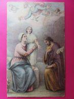 170 - Image - Marie, Joseph Et Enfant Jésus - Bénies De Dieu - Images Religieuses