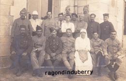 CPA PHOTO - 17 - ROCHEFORT - MILITARIA GUERRE De 1914-1918 HOPITAL MILITAIRE Corresp Blessé En 1918 - Rochefort