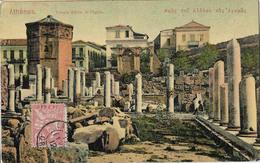 GRECE ATHENES TEMPLE EOLE ET AGORA - Grèce