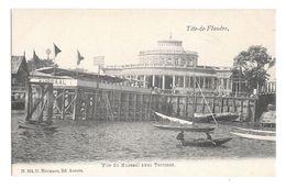 (19459-00) Belgique - Tête De Flandre - Vue Du Kursaal Avec Terrasse - Barque - Antwerpen