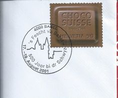 Swiss Chocolate.Schweizer Schokolade.Cover Of The Basel Feast. 500 Years Of Schwyz. Swiss Chocolate. - Cocoa & Chocolat