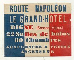 DIGNE GRAND HOTEL - Hotel Labels