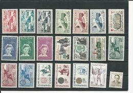 MAROC  Voir Détail (21) ** Cote 9,00 $ 1958-62 - Maroc (1956-...)
