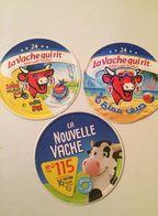 ALGERIE- ÉTIQUETTES LA VACHE QUI RIT- ( SÉRIES-76025955-76030745-76033417) - Fromage