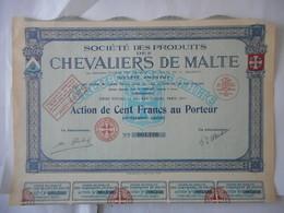 Produits Des CHEVALIERS De MALTE         PARIS 15EME - Shareholdings