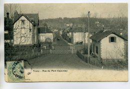 89 TOUCY Le Passage à Niveau Rue Du Pont Capureau  écrite En 1906     /D01-2017 - Toucy