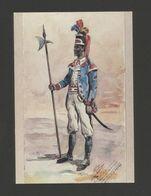ART POSTCARD PORTUGAL MOZAMBIQUE NATIVE ARMY AFRICA AFRIKA AFRIQUE - Mozambique