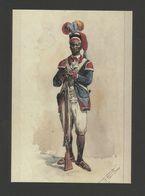 - ART POSTCARD PORTUGAL MOZAMBIQUE NATIVE ARMY AFRICA AFRIQUE - AFRIKA - Mozambique