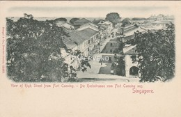 Singapore  High Street From Fort Canning      Sg332 - Singapore