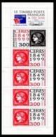 Année 1999 - N° 3213 - T-P N° 3211 - 3212 X 4 - 150 ème Anniv. Du 1er Timbre-poste Français : Cérès Noir Et Cérès Rouge - Commémoratifs