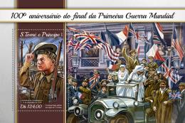 Z08 ST18103b Sao Tome And Principe 2018 World War I MNH ** Postfrisch - São Tomé Und Príncipe
