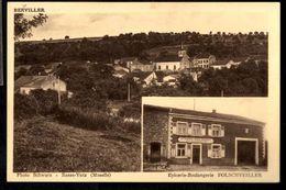 BASSE YUTZ (Moselle) Berviller / Epicerie - Boulangerie Folschveiler - France