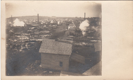 B&W RPPC - Real Photo Postcard Velox Stamp Box 1907-1920 - Workers' Village  - 2 Scans - Cartes Postales