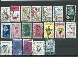 MAROC  Voir Détail (19) ** Cote 9,00 $ 1963-66 - Maroc (1956-...)