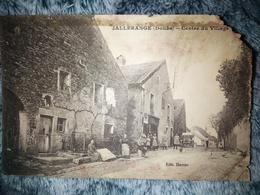 CPA Jallerange Doubs Centre Du Village - Autres Communes