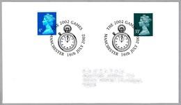 COMMONWEALTH GAMES 2002. CRONOMETRO - CHRONOMETER. Manchester 2002 - Relojería