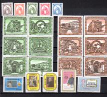 1984-85  Guatemala, Séries  Yv. 440 /449** Et  PA 767 / 798**, Cote 19 €, - Guatemala