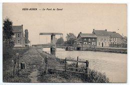Deux Acren Le Pont Du  Canal - Lessines