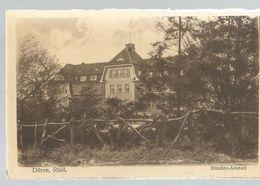 CPA - Allemagne ,Düren ,Rhld , Blinden Anstait ,  Ed. W.C., 1921 - Dueren