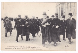 Rare CPA Election Présidentielle, 17 Janvier 1912. Arrestation De Julien Hersent. - Evènements
