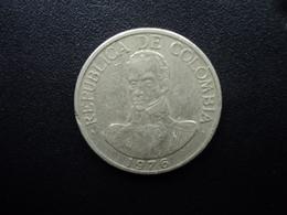 COLOMBIE : 1 PESO   1976   KM 258.2    TTB - Colombia