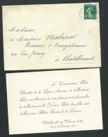 Chatellerault - Loudun - F.P. Fiançailles De Mll Yvonne Pilod Avec Mr Albert Amirault  Ax13202 - Fiançailles