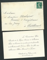 Chatellerault - Loudun - F.P. Fiançailles De Mll Yvonne Pilod Avec Mr Albert Amirault  Ax13202 - Verloving