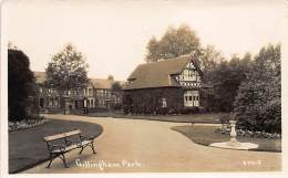 GILLINGHAM (Kent) – Park – REAL PHOT. - England