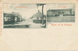 Groet Uit De Kempen - Peer - Nieuwstraat - College - 1902 - Peer