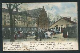 BRUXELLES - PLACE DU JEU DE BALLE - Marktpleinen, Pleinen