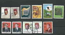 MAROC  Voir Scan (11) * Et O Cote 4,00 $ 1968-2006 - Maroc (1956-...)