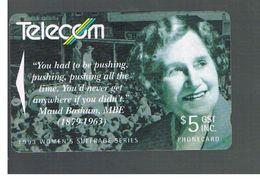 NUOVA ZELANDA - NEW ZEALAND - 1993 WOMEN SUFFRAGE: MAUDE BASHAM   - USED -  RIF. 10399 - New Zealand